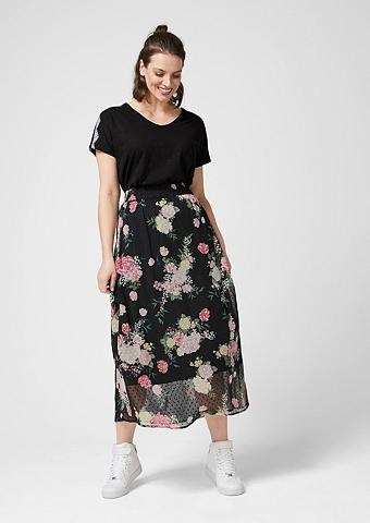 TRIANGLE Maxi ilgio sijonas iš Plumetis