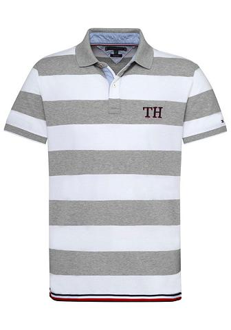 TOMMY HILFIGER Polo marškinėliai »STRIPED HEM DETAIL«...
