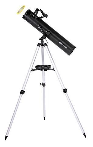 BRESSER Teleskop »Venus 76/700 AZ Spiegelteles...