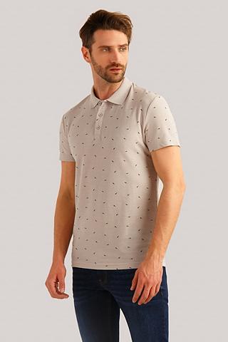 FINN FLARE Polo marškinėliai su lässiger sagos
