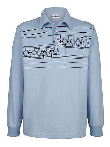 ROGER KENT Polo marškinėliai su raštas im priekyj...