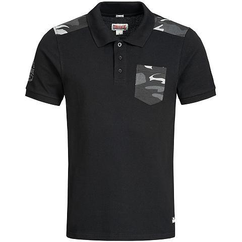 LONSDALE Polo marškinėliai su Military-Elemente...