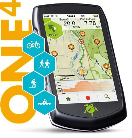 TAHUNA Outdoor-Navigationsgerät »ONE4«