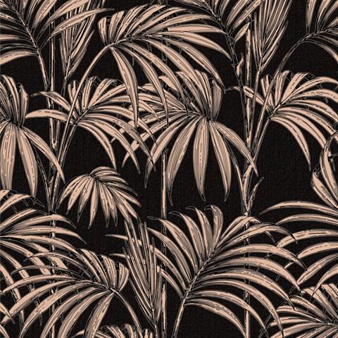 Tapetai »Honolulu Black/Gold«