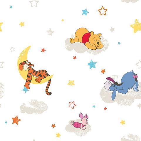 Popieriniai tapetai »Pooh - Rise and S...