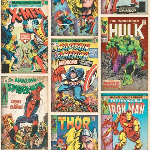 MARVEL Popieriniai tapetai » Action Heroes«