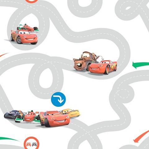 Popieriniai tapetai »Cars Racetrack« D...