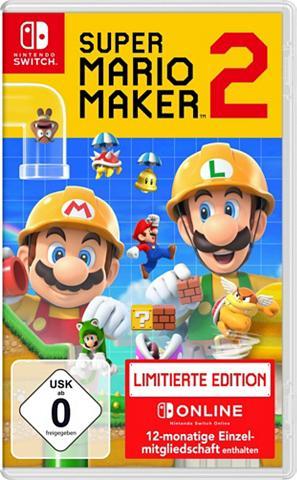 NINTENDO SWITCH Super Mario Maker 2 Limited Edition Ni...