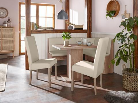 Kampinis virtuvės suolas su kėdėmis »H...