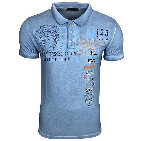 RUSTY NEAL Polo marškinėliai su coolem raštas pri...