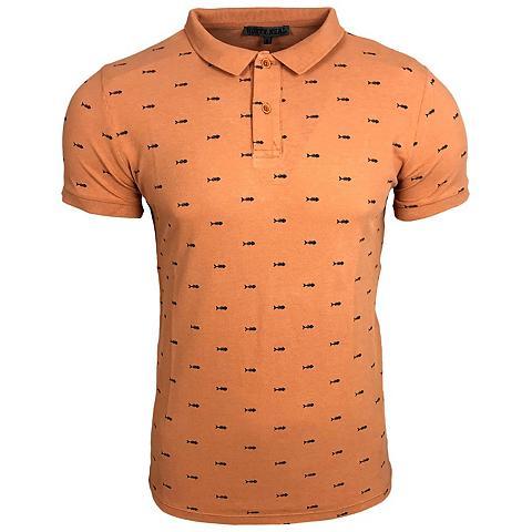 RUSTY NEAL Polo marškinėliai su coolem raštas