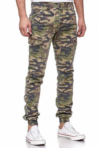 RUSTY NEAL Kelnės im coolen Military-Syle