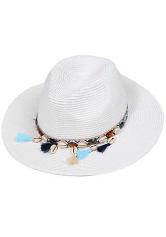 ZWILLINGSHERZ šiaudinė skrybėlė