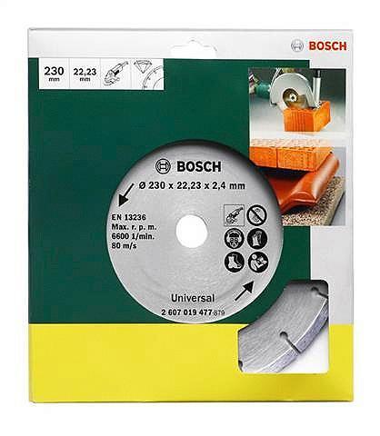 BOSCH Deimantinis pjovimo diskas »für Baumat...