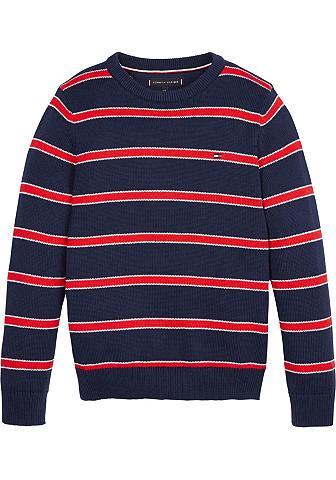 TOMMY HILFIGER Dryžuotas megztinis »STRIPE SWEATER«