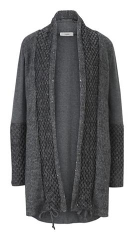 heine CASUAL Ilgas megztinis su paraukimai
