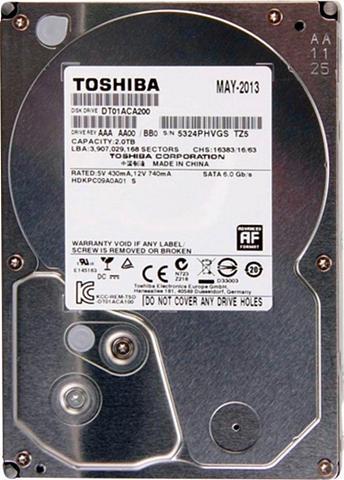 TOSHIBA »HDD DT01ACA« HDD-Festplatte 35 '' (SA...