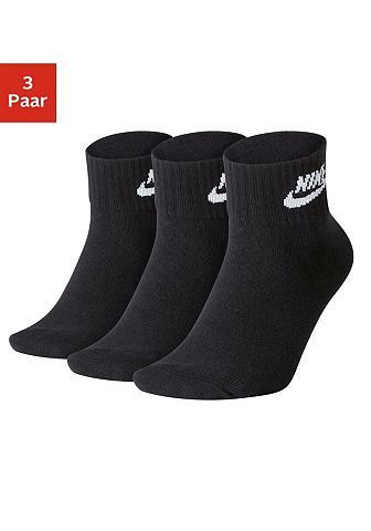 Nike Tennissocken (3-Paar) in Kurzform