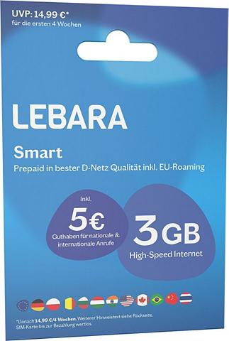 Lebara Prepaid Karte »Prepaid Smart«