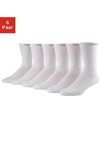 CALVIN KLEIN Sportinės kojinės (6 poros)