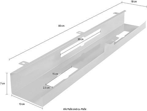 AMSTYLE Kabelkanal dėl rašomasis stalas 80x7x1...