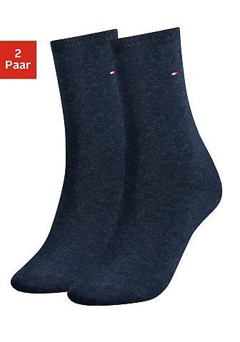 Tommy Hilfiger Socken (2-Paar) su flacher Zehennaht