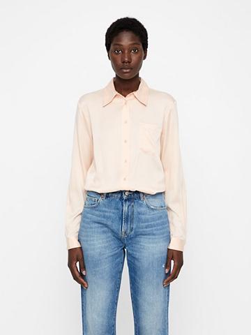 J.LINDEBERG Mallory Washed Silk Marškiniai