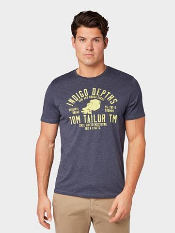 TOM TAILOR Marškinėliai Marškinėliai su Print«
