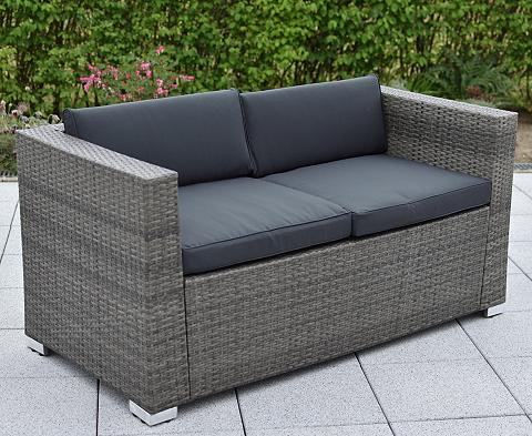 MERXX Sodo sofa »2er sofa Bari Deluxe« Stahl...