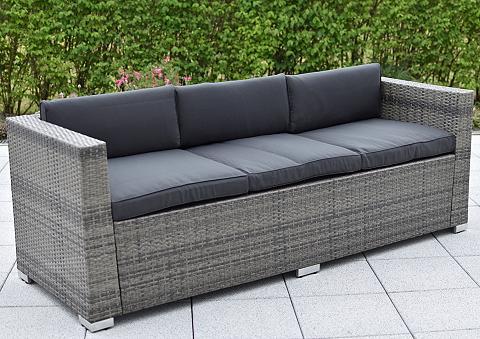 MERXX Sodo sofa »3er sofa Bari Deluxe« Stahl...