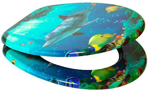 SANILO WC-dangtis »Delphin« su Lėto nusileidi...