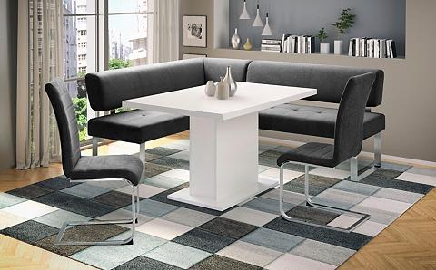 INOSIGN Kampinis virtuvės suolas su kėdėmis »A...