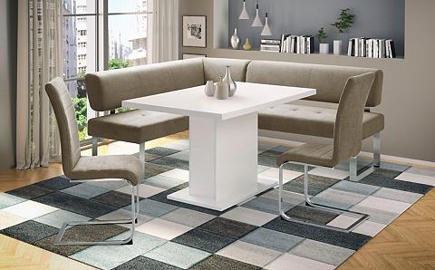 Kampinis virtuvės suolas su kėdėmis »A...