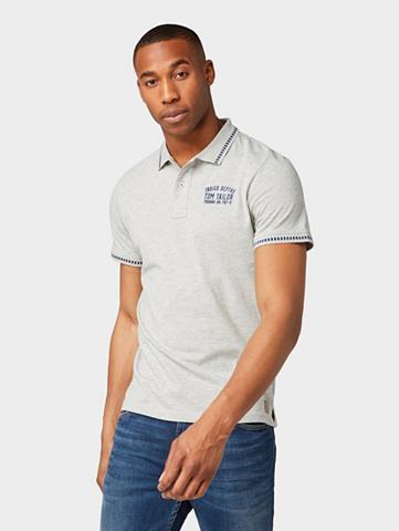 TOM TAILOR Marškinėliai »Poloshirt su Stickerei«
