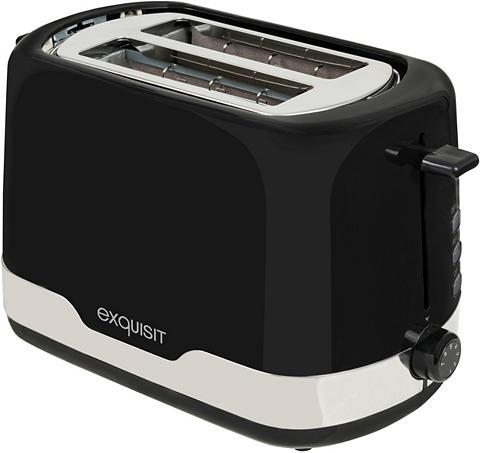 exquisit Toaster TA 6101 swi 2 kurze Schlitze 8...