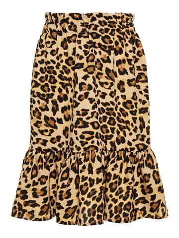 NAME IT Leopardenprint Sijonas