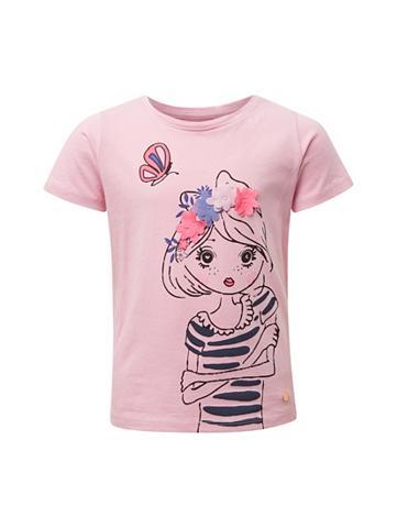 TOM TAILOR Palaidinė Marškinėliai su Print«