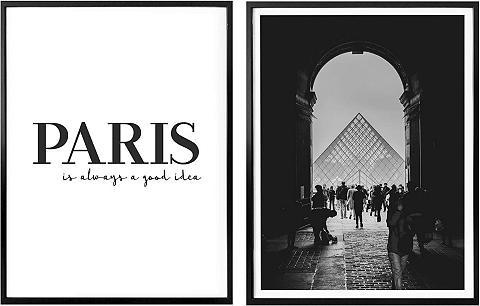 Wall-Art Poster »Paris is always a good idea« (...
