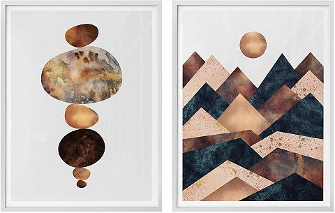 Wall-Art Poster »Fredriksson - Harmonie« (Set) ...