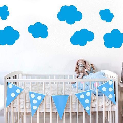 Wall-Art Wandtattoo »Wolken-Set«