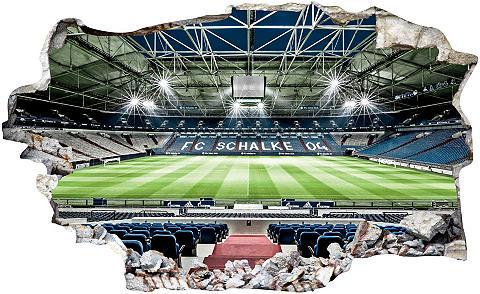 Wall-Art Wandtattoo »FC Schalke 04 Arena Tribün...