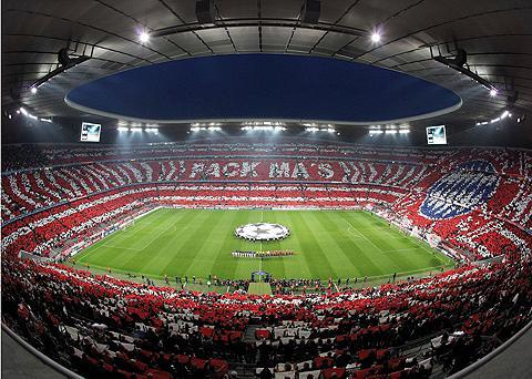 Wall-Art Fototapetas »Bayern München Stadion Ch...