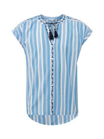 TOM TAILOR Marškiniai »Gestreifte Kaftanbluse«