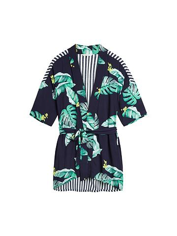 SANDWICH Kimono su du padėties Prints