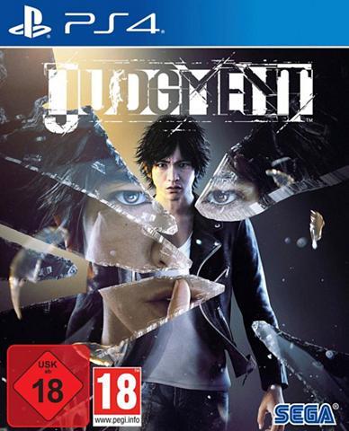 SEGA Judgment PlayStation 4