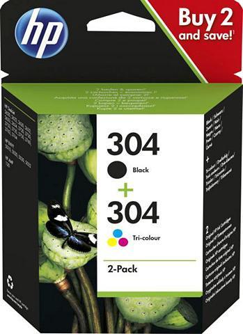 HP » 304 Druckerpatrone Multipack« Tinten...