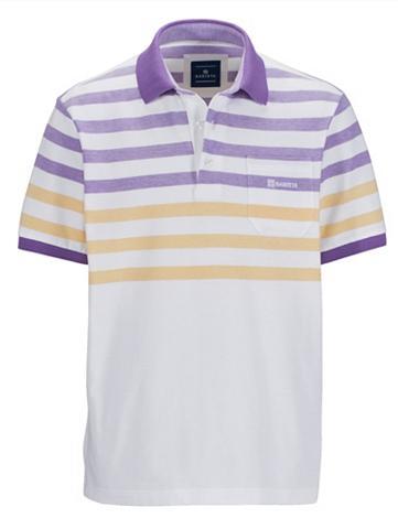 BABISTA Polo marškinėliai in zweifarbiger Piqu...