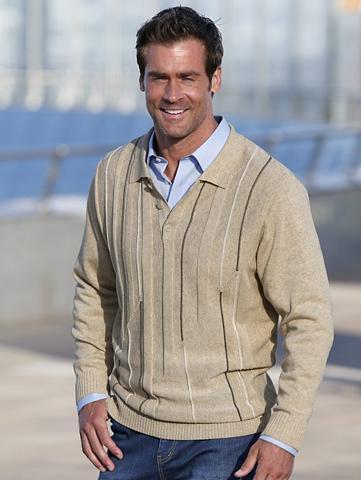 ROGER KENT Megztinis su Polo tipo apykaklė