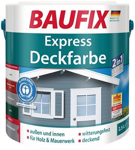 BAUFIX Buntlack express Deckfarbe anthrazit 2...