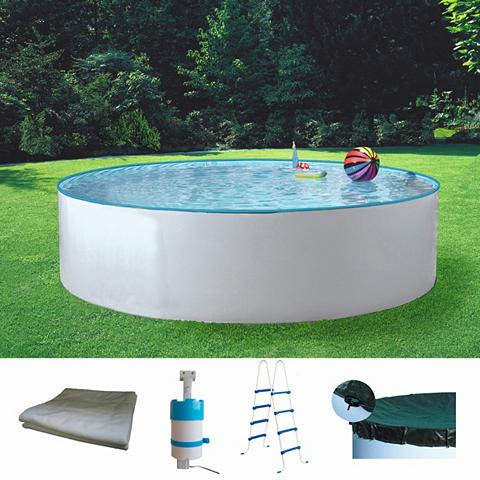 MYPOOL Rinkinys: apvalus baseinas »Standard« ...